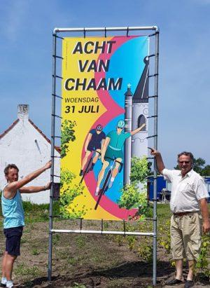 Nieuwe banners kondigen 81-ste Acht aan