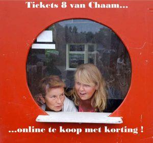 Koop E-Tickets 8 Van Chaam met korting!